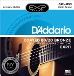 DADDARIO EXP11 Acoustic Guitar Set 80/20 Lite