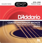 DADDARIO EXP17 Acoustic Guitar Set PB Coated Med.