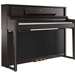 ROLAND LX705DRC Pureacoustic Modeling Piano W  Stand & Bench (Dark Rosewood)