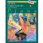 Alfred's Basic Piano Library Top Hits Solo Book Complete 2 & 3