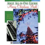 Alfred's Basic Adult All-in-One Piano Course Merry Christmas Book 1