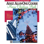 Alfred's Basic Adult All-in-One Piano Course Merry Christmas Book 2