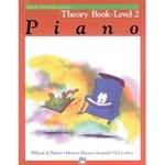 Alfred's Basic Piano Library Theory Book 2