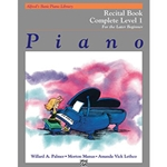 Alfred's Basic Piano Library Recital Book Complete 1 (1A/1B)