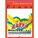 Alfred's Basic Piano Library Technic Book 1A