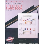 Alfred's Basic Adult Piano Course Theory Book 1