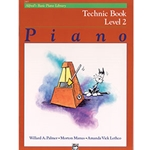 Alfred's Basic Piano Library Technic Book 2
