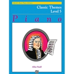 Alfred's Basic Piano Course Classic Themes Book 5