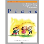 Alfred Basic Piano Library Ear Training Complete Book 1 (1A/1B)