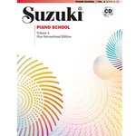 Suzuki Piano School New International Edition Piano Book and CD Volume 4