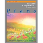 Alfred's Basic Piano Library Praise Hits Complete Level 1 Book 1A & 1B
