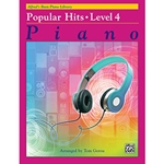 Alfred's Basic Piano Library Popular Hits Book 4
