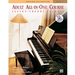 Alfred's Basic Adult All-in-One Book 1 w/CD