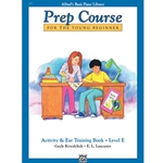 Alfred's Basic Piano Prep Course Activity & Ear Training Book E