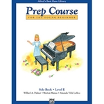 Alfred's Basic Piano Library Prep Course Solo Book E