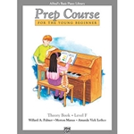 Alfred's Basic Piano Library Prep Course Theory Book F