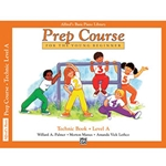 Alfred's Basic Piano Library Prep Course Technic Book A