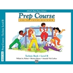 Alfred's Basic Piano Library Prep Course Technic Book B