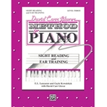 David Carr Glover Method for Piano Sight Reading and Ear Training Level 3