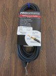 "PROformance PRP25 25' Hot Shrink 1/4"" to 1/4"" Instrument Cable"