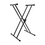 On Stage KS7191 Classic Double X Keyboard Stand