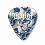 80728 Taylor Premium Darktone 351 Thermex Ultra Picks Blue Swirl 1.50mm 6-Pack