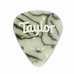 80736 Taylor Celluloid 351 Picks Abalone 0.96mm 12-Pack
