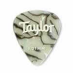 80737 Taylor Celluloid 351 Picks Abalone 1.21mm 12-Pack