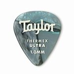 80738 Taylor Premium Darktone 351 Thermex Ultra Picks Abalone 1.00mm 6-Pack