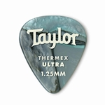 80739 Taylor Premium Darktone 351 Thermex Ultra Picks Abalone 1.25mm 6-Pack