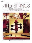 All For Strings Violin Theory Workbook 1