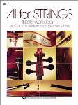 All For Strings Bass Theory Workbook BK 1