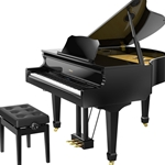 ROLAND GP609PEC Modeling Grand Piano w/ Stand & Bench