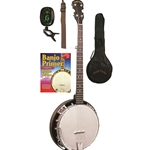Gold Tone CCBG Cripple Creek Banjo Starter Package