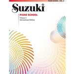 Suzuki Piano School International Edition Piano Book Volume 4