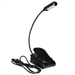 On Stage LED2214 LED Sheet Music Light USB Rechargeable Single lamp 4 bulbs