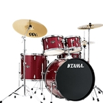 Tama IE52C Imperial Star 5pc Drumset w/ Meinl Cymbals