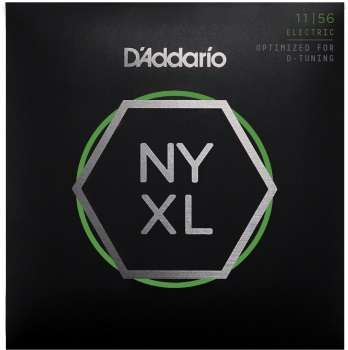 DADDARIO NYXL1156 Nickel Electric Guitar Strings Medium Top / Extra-Heavy Bottom