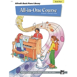 Alfred's Basic All-in-One Course Book 4