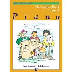 Alfred's Basic Piano Library Notespeller Book 3