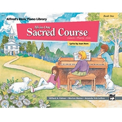 Alfred's Basic All-In-One Sacred Course Book 1