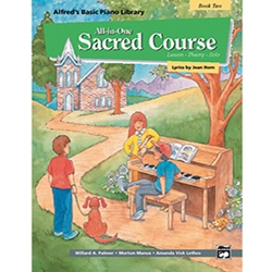 Alfred's Basic All-in-One Sacred Course Book 2