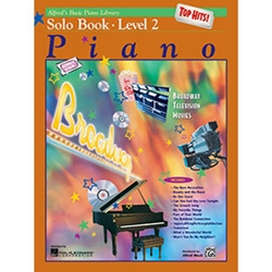 Alfred's Basic Piano Library Top Hits Solo Book 2