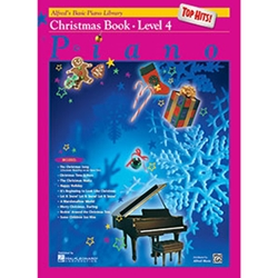 Alfred's Basic Piano Library Top Hits Christmas Book 4