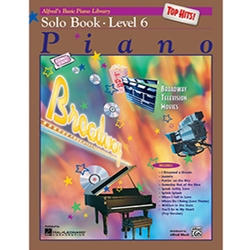 Alfred's Basic Piano Library Top Hits Solo Book 6