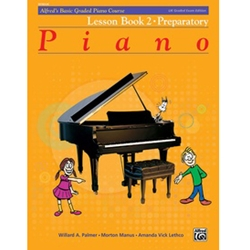 Alfred's Basic Graded Piano Course Lesson Book 2