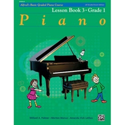 Alfred's Basic Graded Piano Course Lesson Book 3