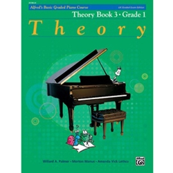 Alfred's Basic Graded Piano Course Theory Book 2