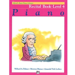 Alfred's Basic Piano Library Recital Book 4