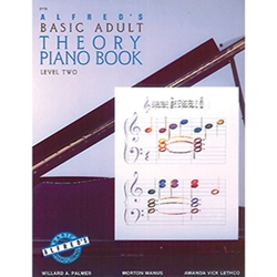 Alfred's Basic Adult Piano Course Theory Book 2
